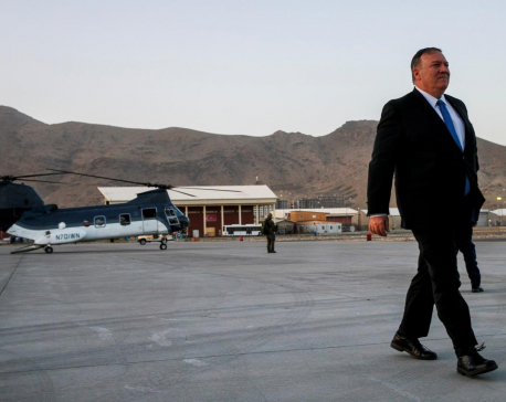 Trump wants forces reduced in Afghanistan by next U.S. election: Pompeo