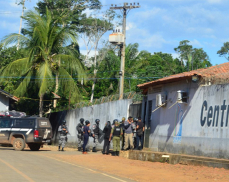 Death toll in Brazil prison massacre rises to 57 with over a dozen decapitated