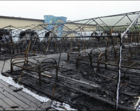Tent campfire in Russia kills 4 children; owner detained