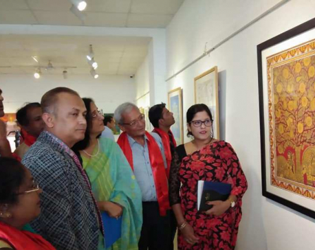 Nepal-Bangladesh Friendship Art Exhibition being held in capital