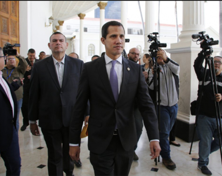 Greece recognizes Venezuela's Guaido as interim president