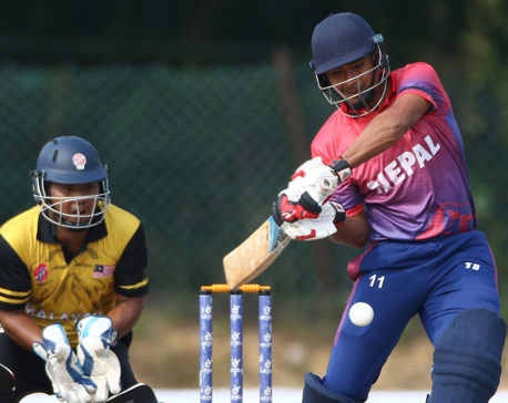 Malla shines in Nepal's victory against Malaysia in World T20 Asia qualifiers
