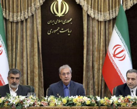 Iran steps further from nuke deal, adding pressure on Europe