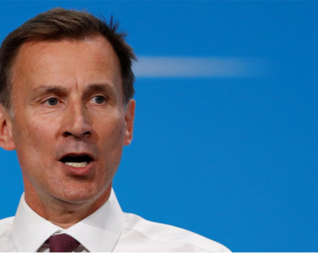 UK's Hunt says Iran may be on 'dangerous path' after seizing tanker