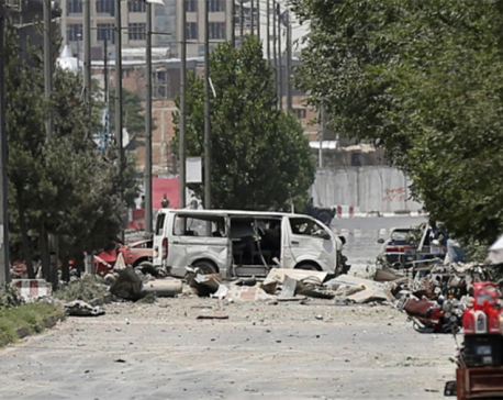 Six killed, 105 wounded in Taliban attack in Kabul
