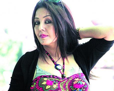 Karishma Manandhar in dilemma for +2 studies