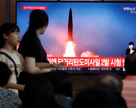 North Korea fires short-range ballistic missiles: South Korean military