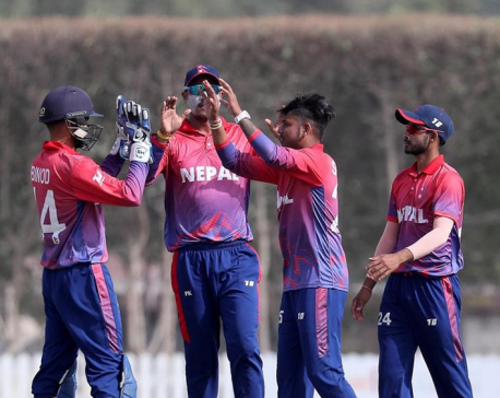 Qatar defeats Nepal by four wickets in ICC Men's World Cup Asia Finals in Singapore