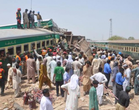 Pakistan PM hits out at poor railways as crash kills 11, injures dozens
