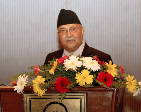 Corruption not thriving, only arrest of corrupt is growing: PM Oli