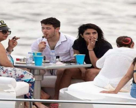 Priyanka Chopra gets trolled for smoking during birthday celebration in Miami