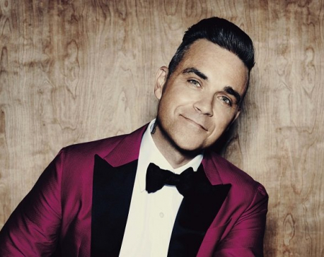 Robbie Williams lived in haunted house