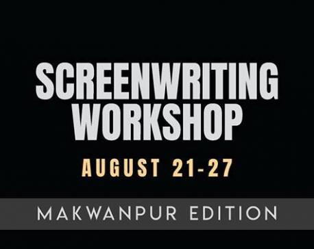Screenwriting workshop in Makwanpur
