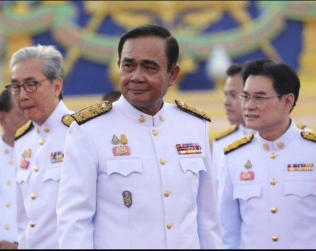 Thailand's new Cabinet sworn in, ending rule by army junta