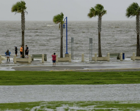 Tropical storm, river flooding hammer Gulf environment