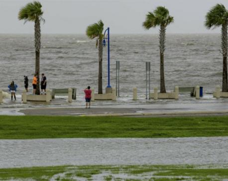 Tropical storm, river flooding hammer Gulf environment