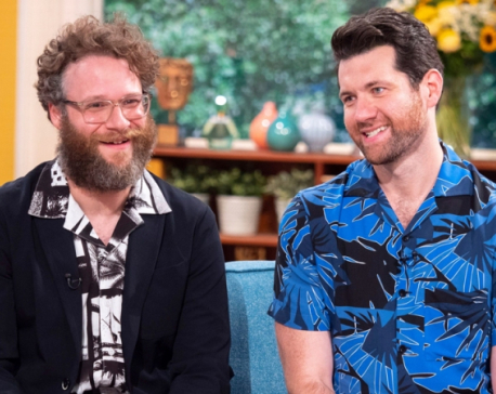 Billy Eichner, Seth Rogen recall meeting Beyonce for first time