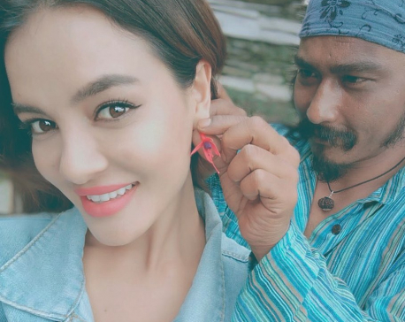 Shristi and Saugat share their Instagram posts