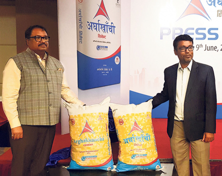 Arghakhanchi launches PPC cement