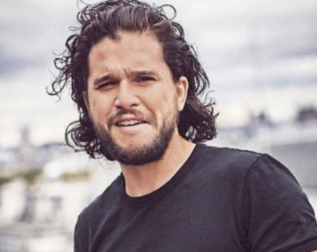 Kit Harington returns home after treatment at a wellness facility