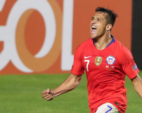 Sanchez strikes as Copa holders Chile thrash Japan