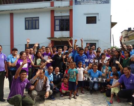 Hyatt Regency Kathmandu supports Nepal child protection home