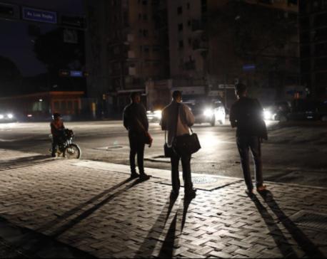 Much of Venezuela in the dark again after massive blackout