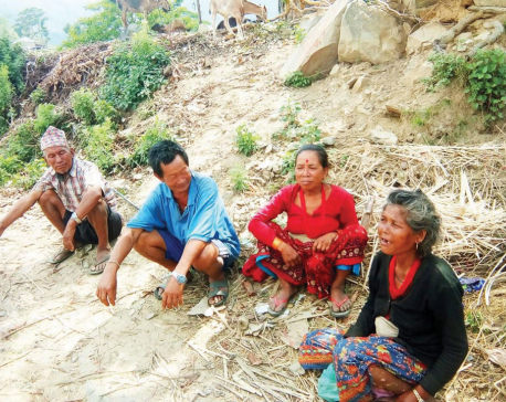 Elderly people left alone in villages to fend for themselves