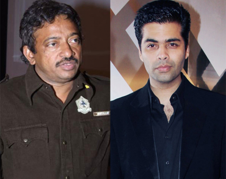 "Karan Johar thanks Ram Gopal Varma for his ""generosity"""