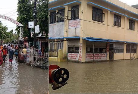 Janakpur submerged in water