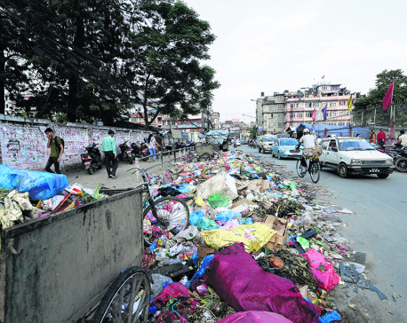 Sisdol protest delays garbage clearance in capital