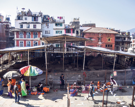 Kasthamandap reports 30 percent progress in reconstruction works