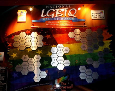 LGBTQ heroes celebrated with wall of honor at Stonewall Inn in New York