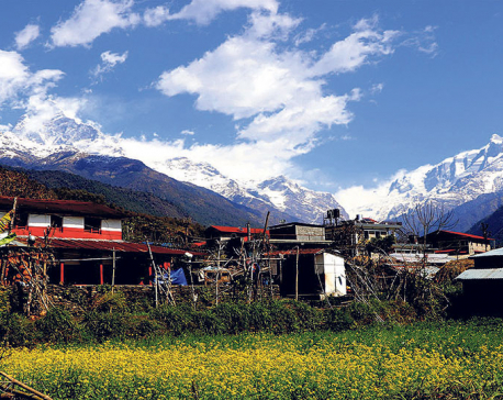 Machhapuchchhre Community Homestay back in business after 10 years