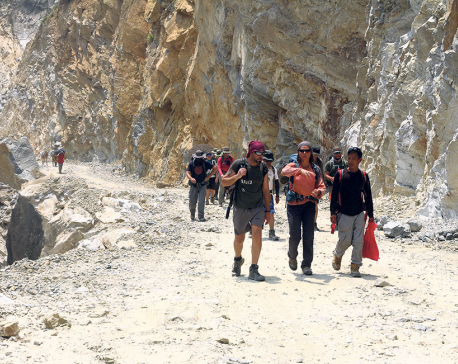 Number of tourists continues to rise in Manasalu
