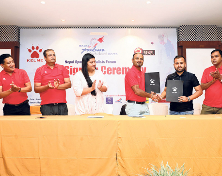 NSJF signs deals with Kelme Nepal, others