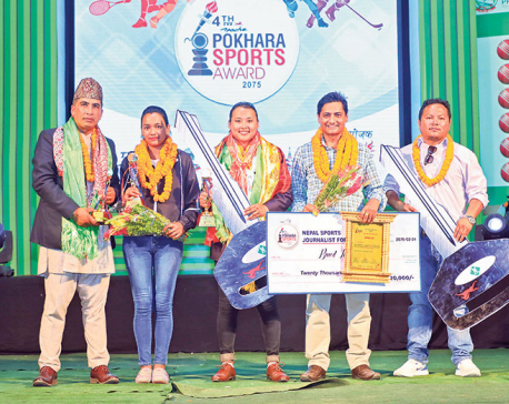 Gurung, Shrestha adjudged best players in NSJF Pokhara Award