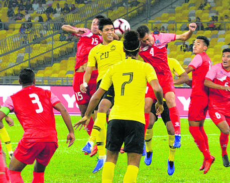 Nepal suffers second defeat in three games under Johan Kalin