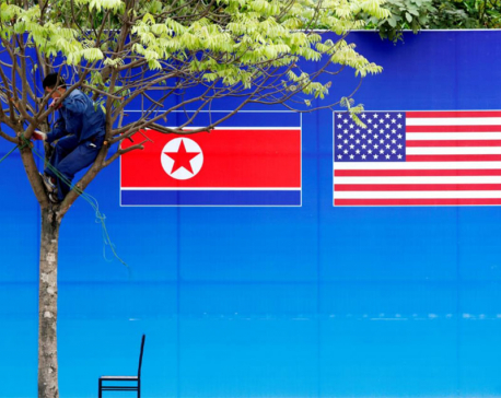 North Korea urges U.S. to change 'hostile policy' on eve of summit anniversary