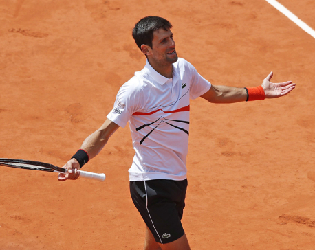 Djokovic's Slam streak ends in loss to Thiem in French semis