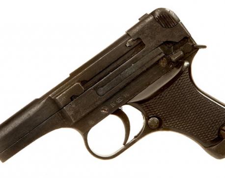 Loaded pistol found on Chitwan Medical College premises