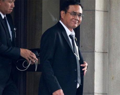 Military government chief Prayuth Chan-ocha elected Thai PM