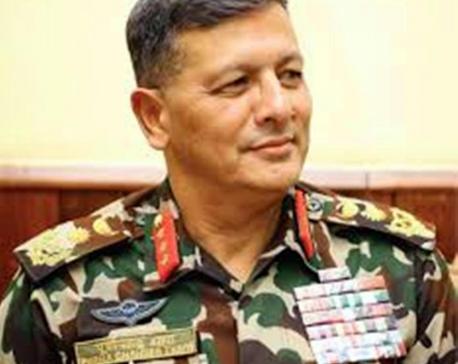 CoAS Thapa leaving for week-long visit to China on Sunday
