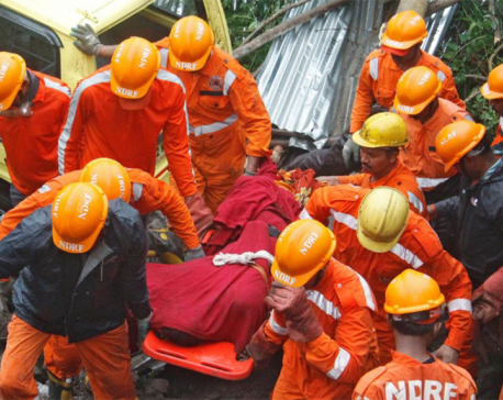 At least 15 dead as construction site wall collapses in western India