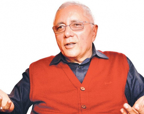 NC leader Koirala accuses govt of trying to curtail press freedom by drafting draconian media laws
