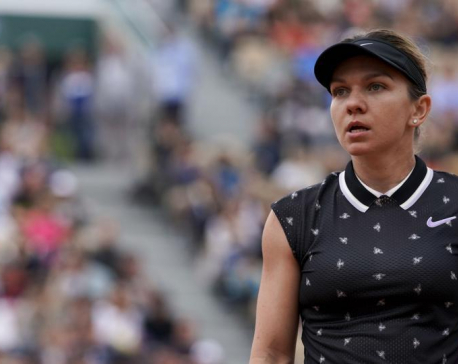 Halep races past Tsurenko to move into fourth round