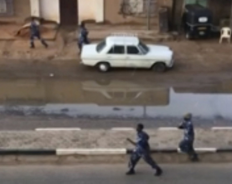 Sudan troops besiege protest camp, 5 reported killed