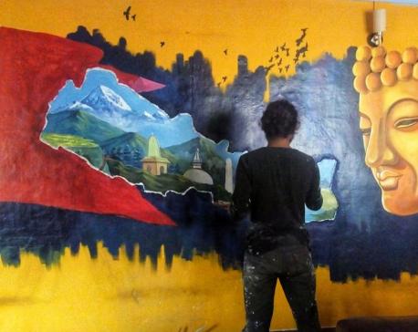 Suman Wagle, an Immerging artist