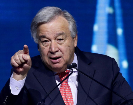 U.N. chief calls on EU to raise 2030 climate goal to 55%