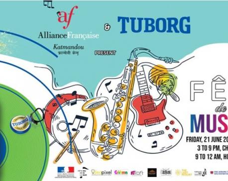The Alliance Française Kathmandu hosting 'Fête de la Musique'
